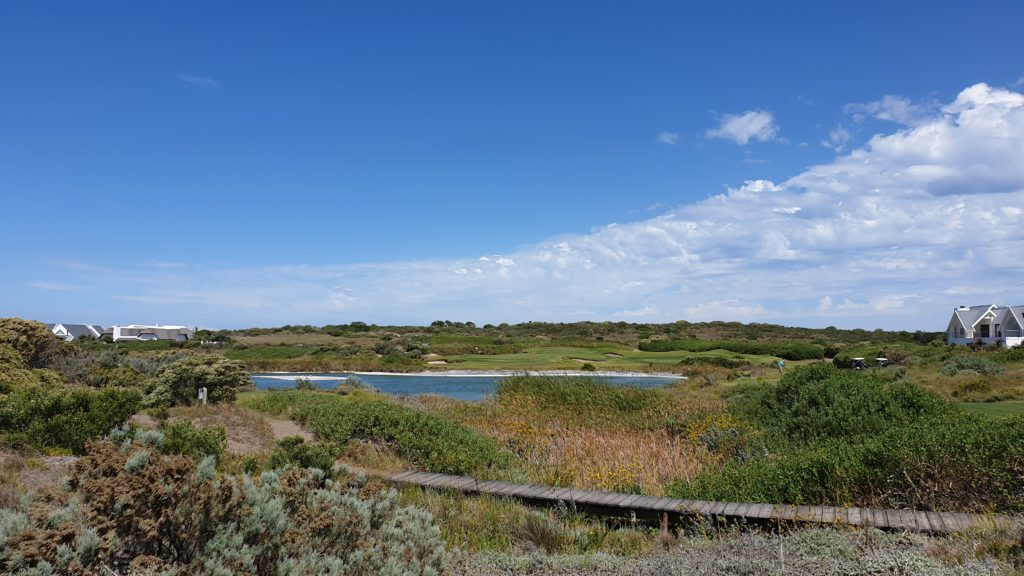 Typische Fynbos-Landschaft auf dem St Francis Links - © Kai Wunner