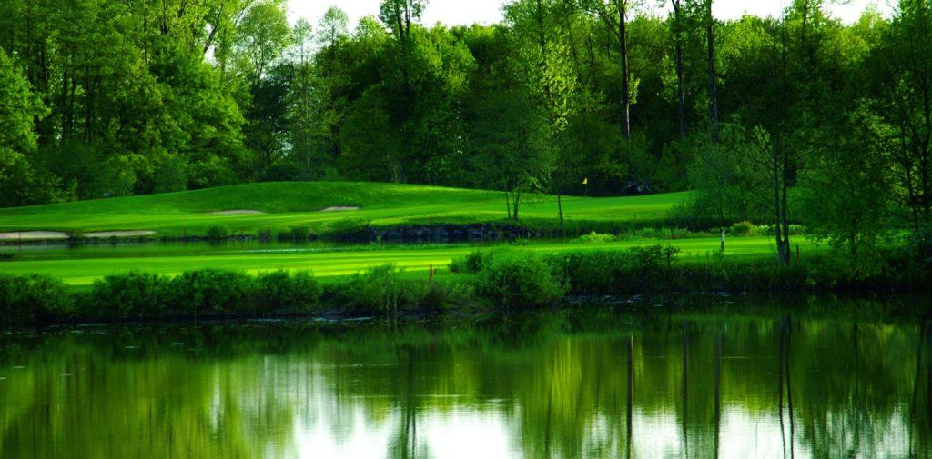 Hier kommt Wasser ins Spiel - © Golfclub International Soufflenheim Baden-Baden