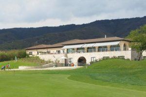Das Clubhaus des Golfplatz Asolo - © Peter von Oppen