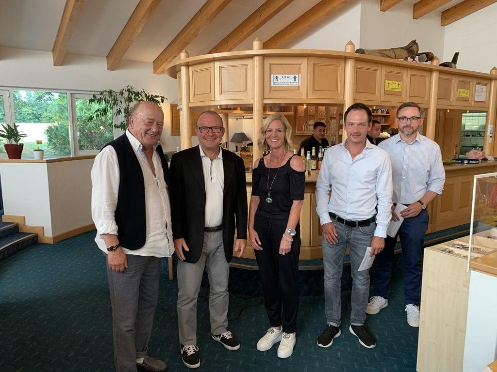 Im Netto gewannen klar, von links: Udo Rogotzki, Bernd Ruof und Sabine Schuster.
