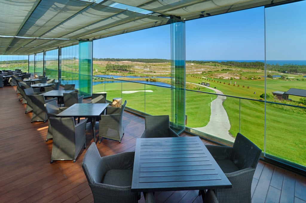 Blick von der Terasse des Clubhauses Royal Obidos©Royal Obidos
