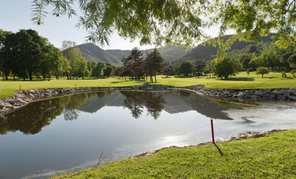 Parkland Course vor den Colli Euganei