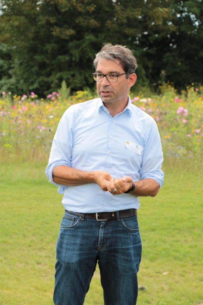 Dr. Andre Baumann im Rahmen seiner Sommertour zu Besuch auf Baden-Württembergischen Golfplätzen - Fotos: © BWGV