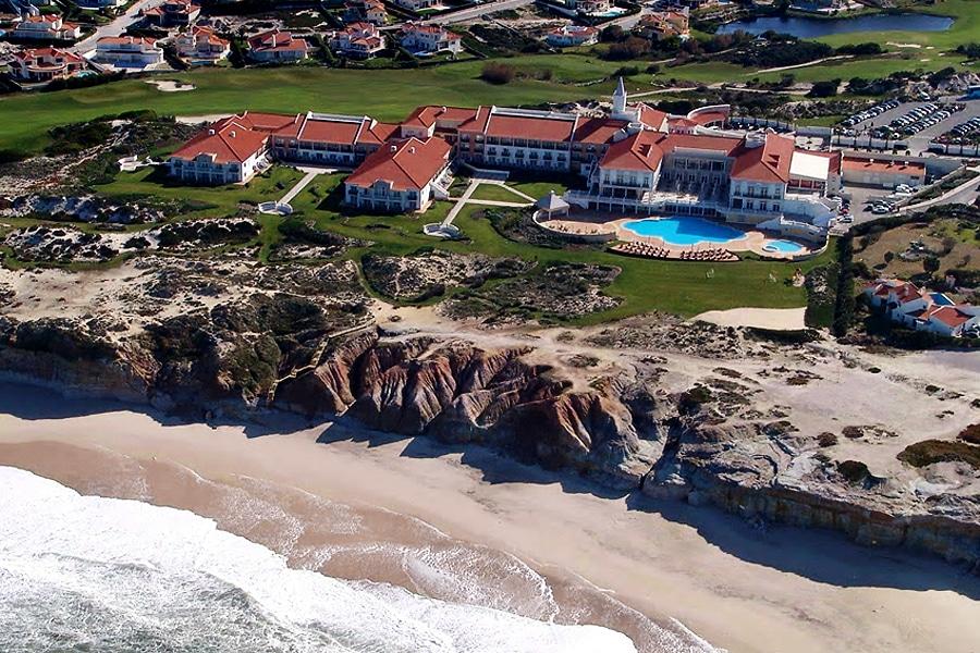 Das Marriot Praia D'El Rey Hotel mit seiner imposanten Lage