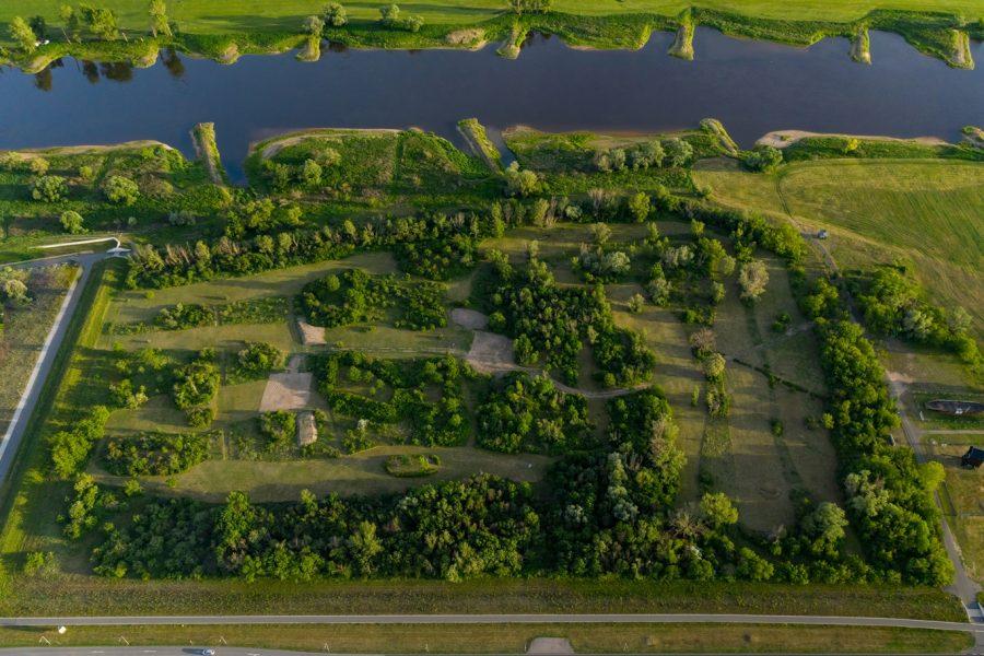 Crossgolfplatz von Oben – © Jessica Stanitz Fotografie
