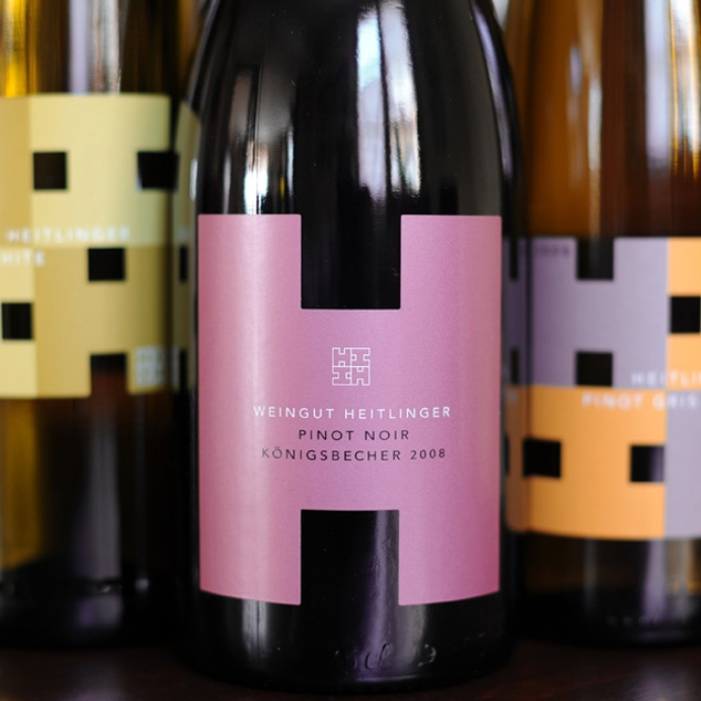 Bild von Weinflaschen